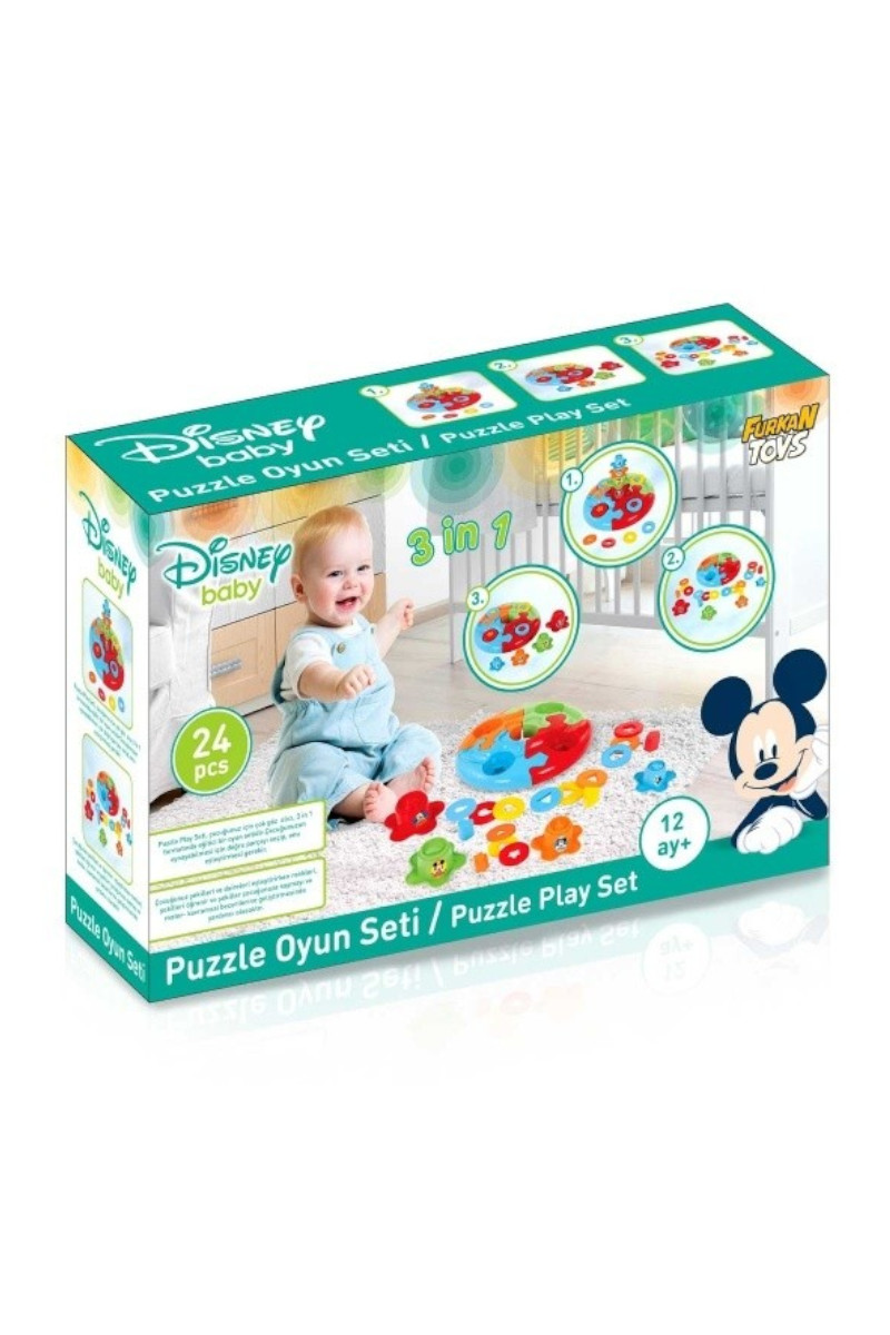 Disney Baby Puzzle Seti