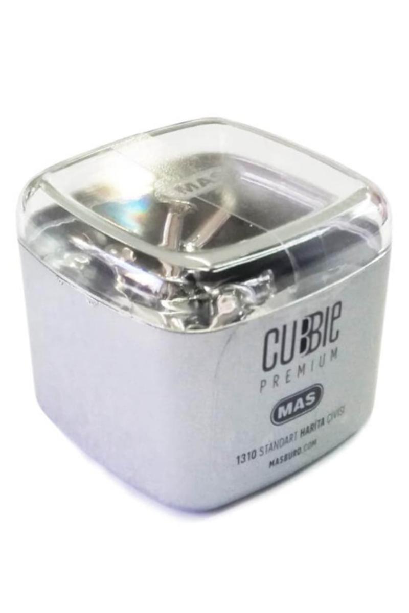Mas Cubbie Premium Top Harita Çivisi Gümüş