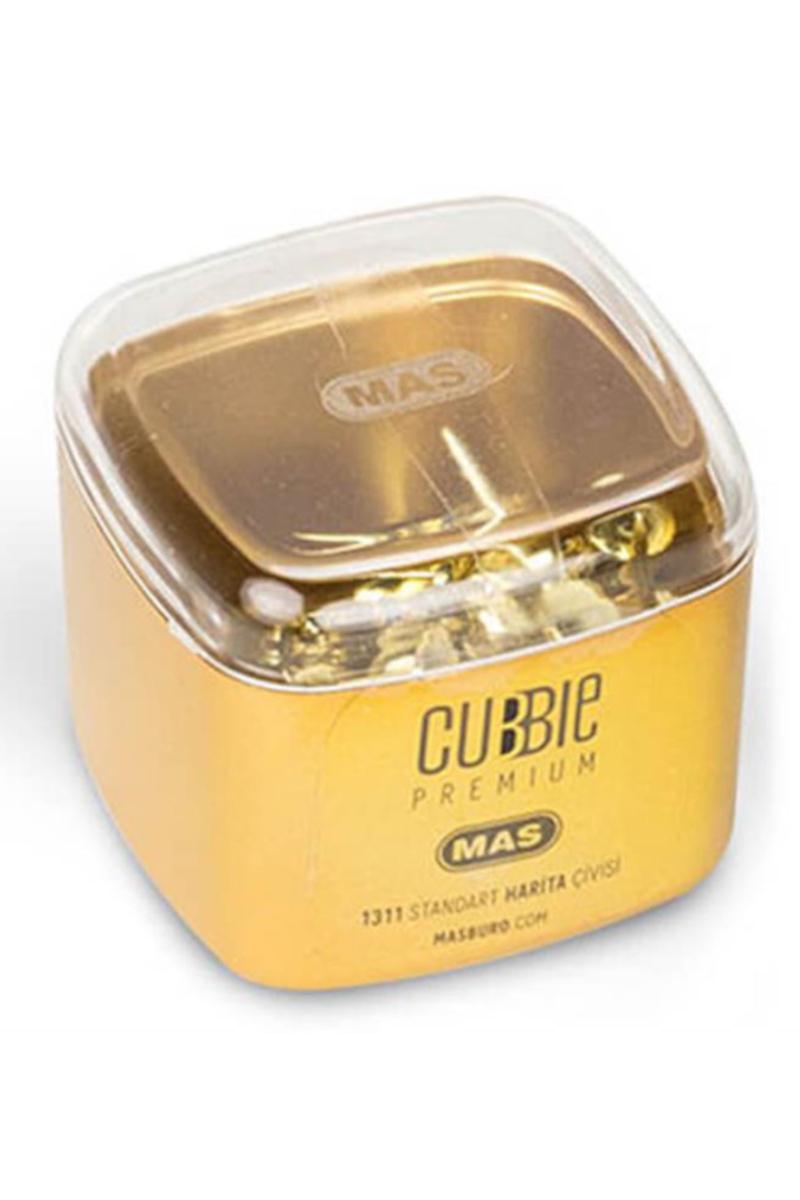 Mas Cubbie Premium Standart Harita Çivisi Altın