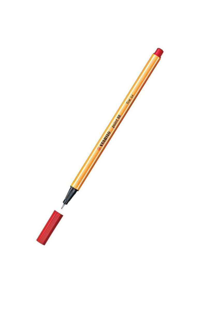 Stabilo Point 88/40 Kırmızı