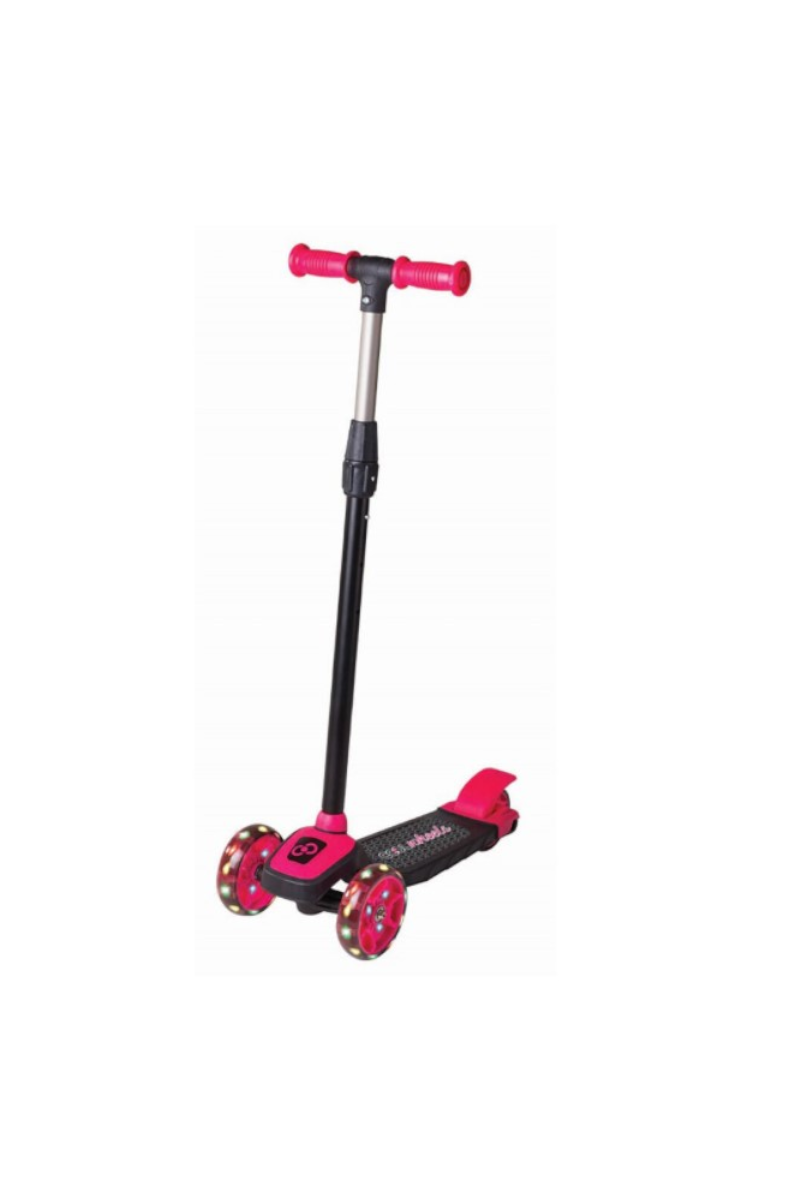 Cool Wheels Işıklı Twıst Scooter Pembe