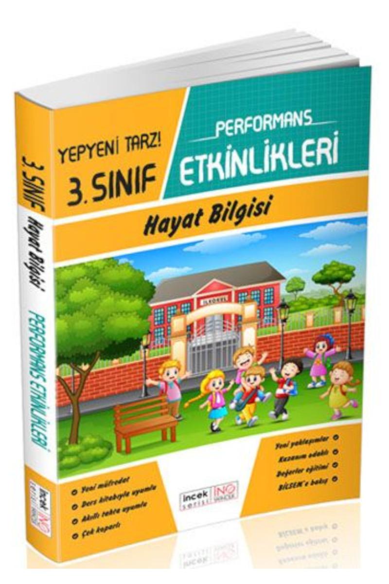 İnovasyon Yayıncılık 3. Sınıf Hayat Bilgisi Performans Etkinlikleri