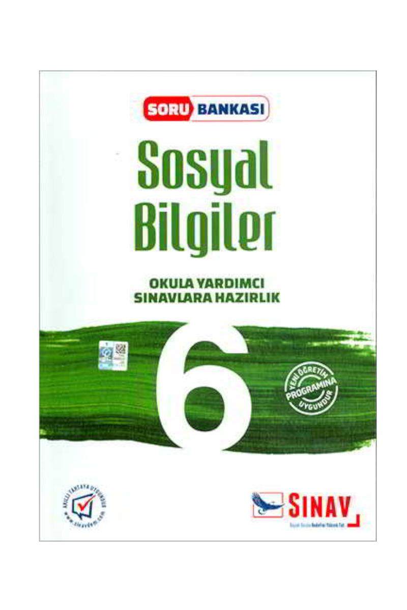 Sınav 6. Sınıf Sosyal Bilgiler Soru Bankası