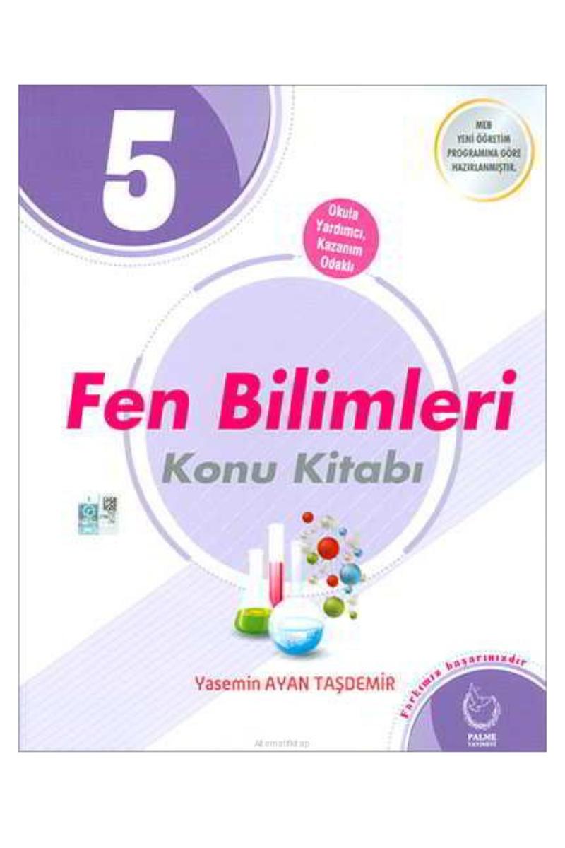 Palme 5. Sınıf Fen Bilimleri Konu Kitabı