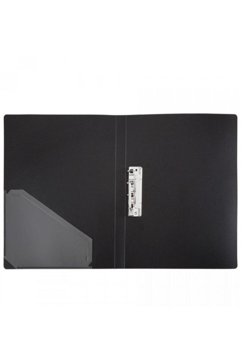 Vegus Sıkıştırmalı Dosya İç Cepli A4 Siyah