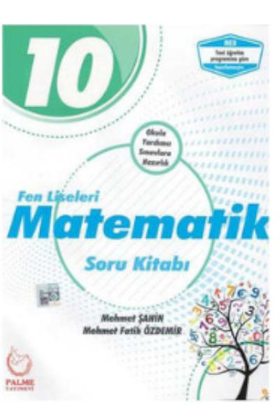 Palme 10 Sınıf Matematik Fen Lisesi Sb