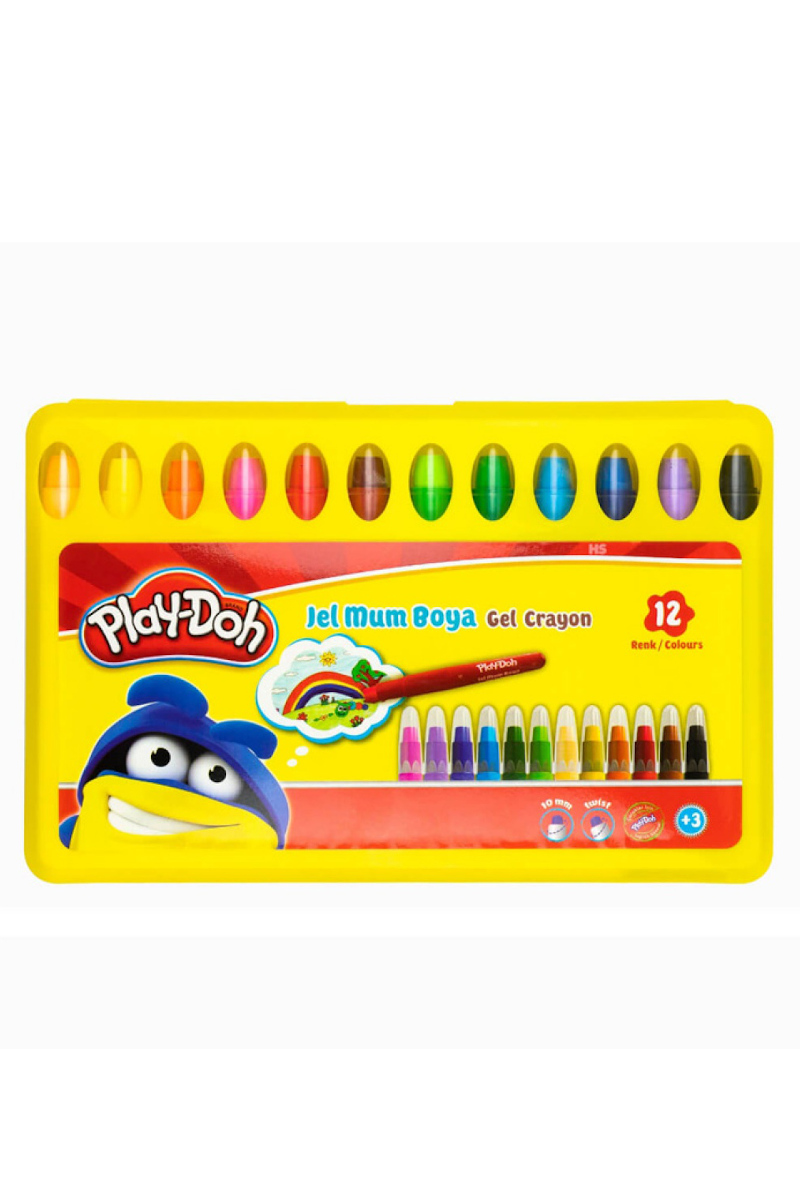 Play-Doh Jel Mum Boya 12 Renk Özel Kutu