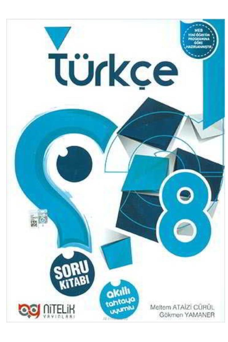 Nitelik 8. Sınıf Türkçe Soru Bankası