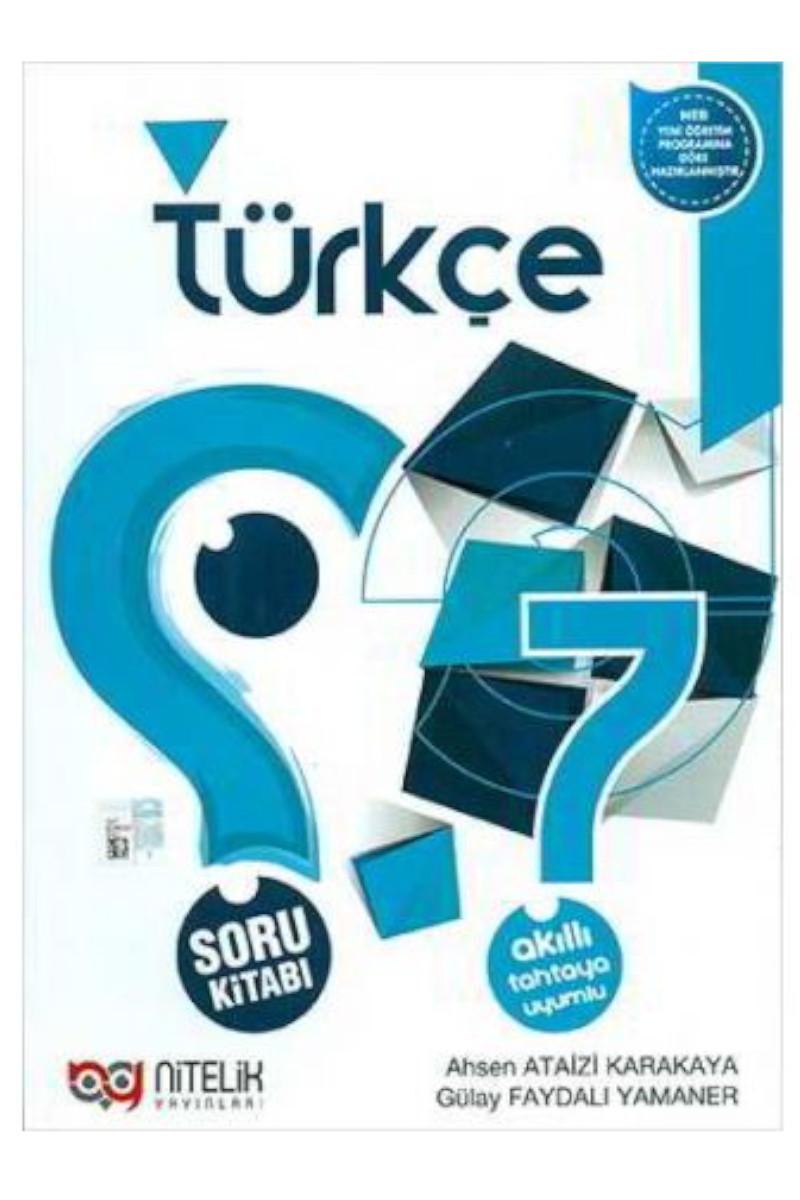 Nitelik 7. Sınıf Türkçe Soru Bankası