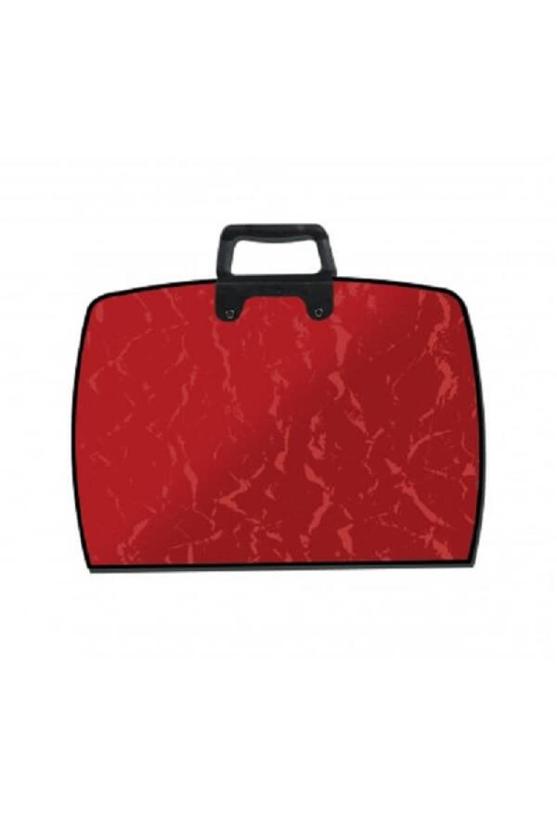 Abka College Renkli Proje Çantası 28x38 Kırmızı
