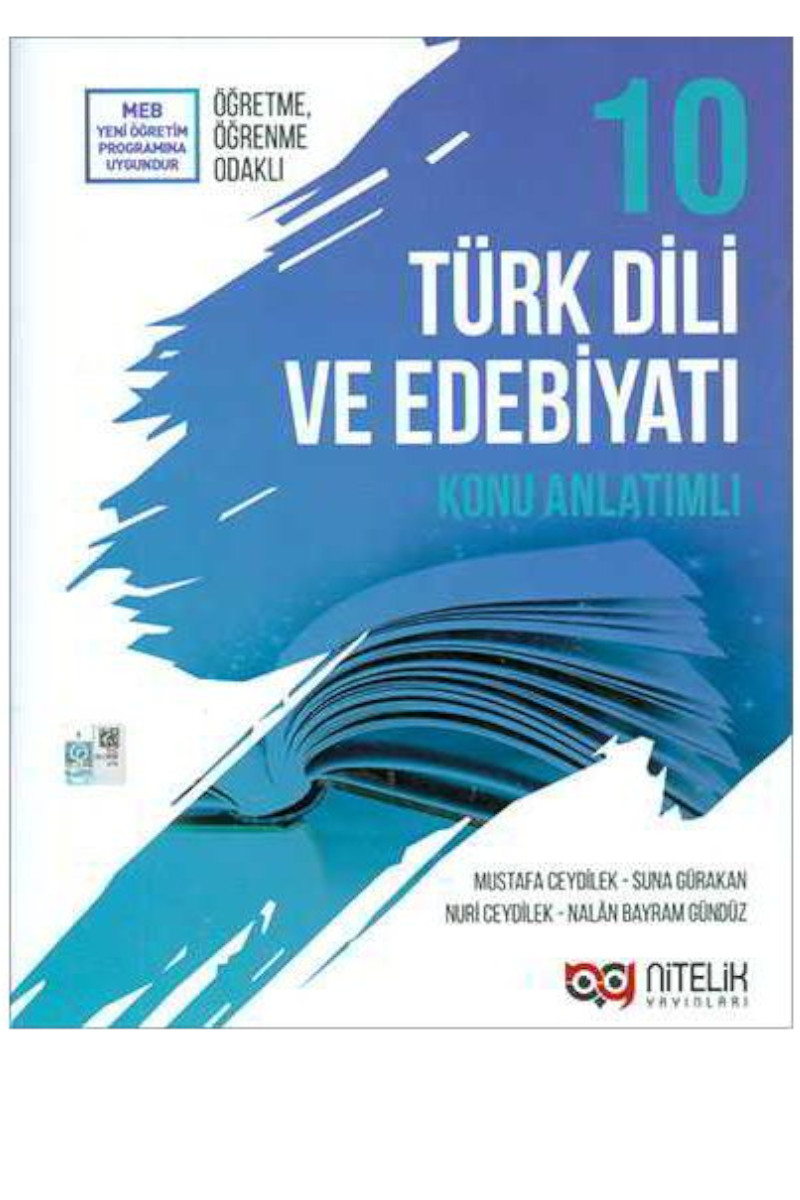 Nitelik 10.Sınıf  Türk Dili Ve Edebiyatı Konu Anlatımlı