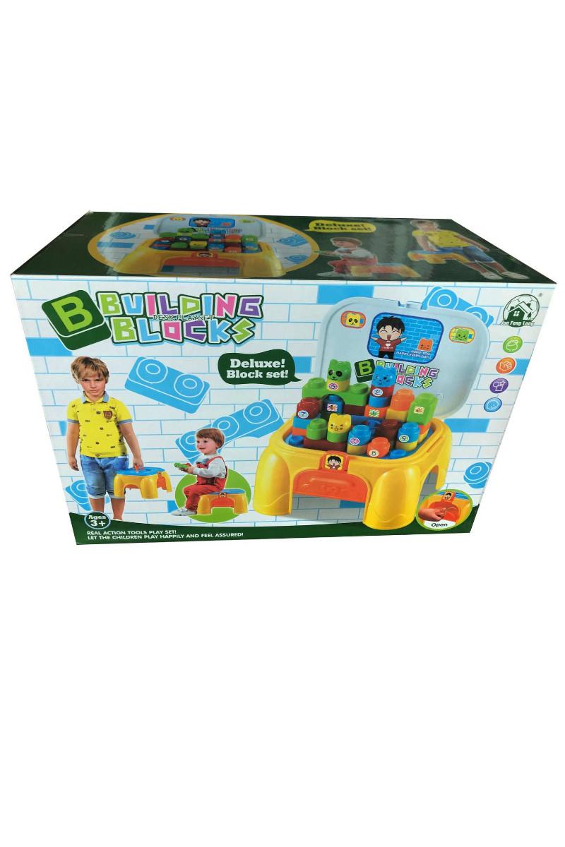 Kutu Çantalı Tabureli Blok Lego