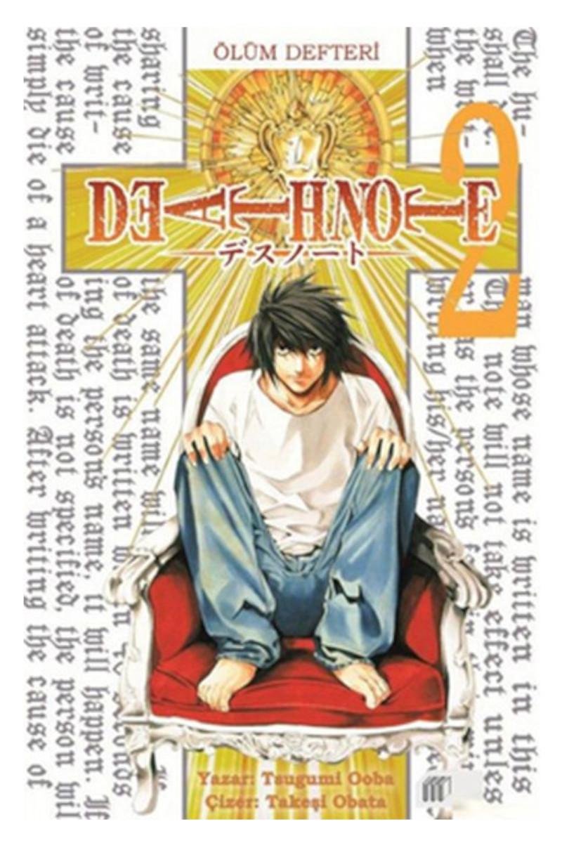 Death Note - Ölüm Defteri 2 (SAHAF)