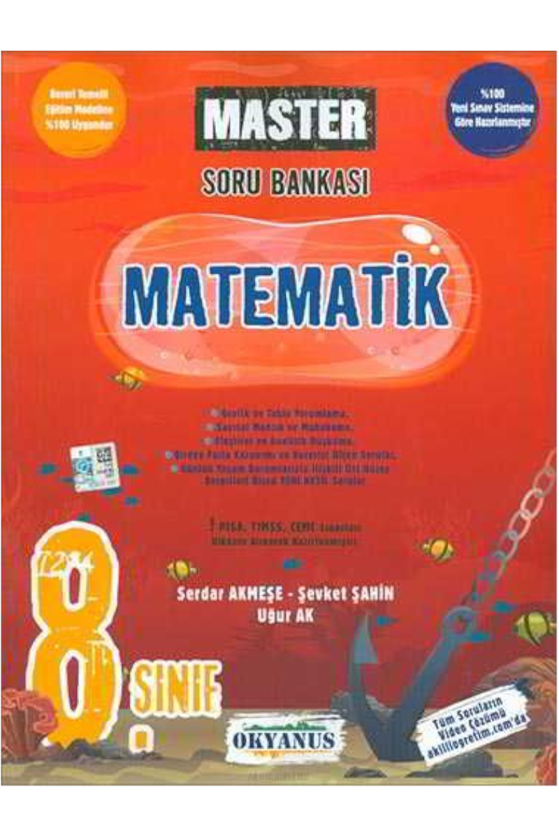 Okyanus 8.Sınıf  Matematik Master Soru Bankası