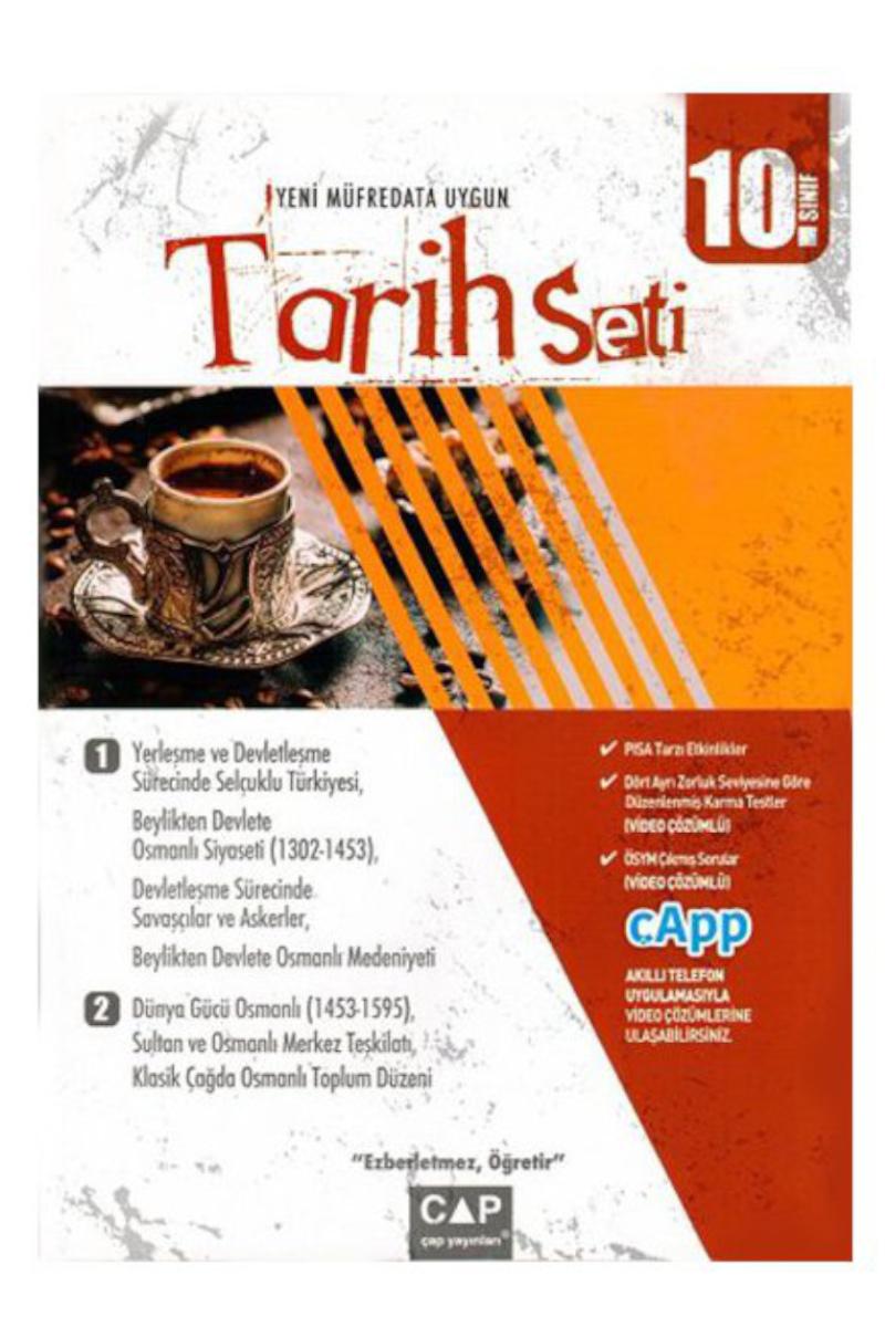 Çap Yayınları 10. Sınıf Tarih Seti Çap