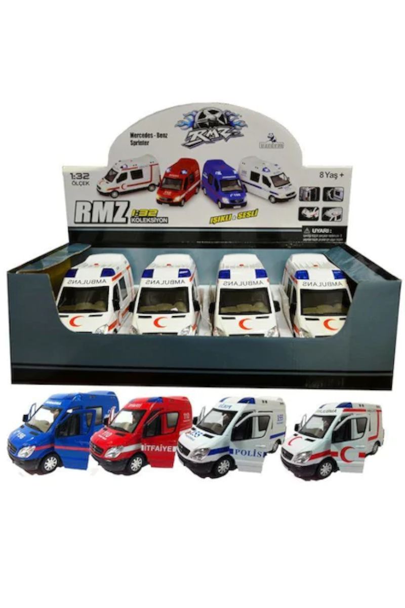 Vardem Işıklı ve Sesli Ambulans 1;32