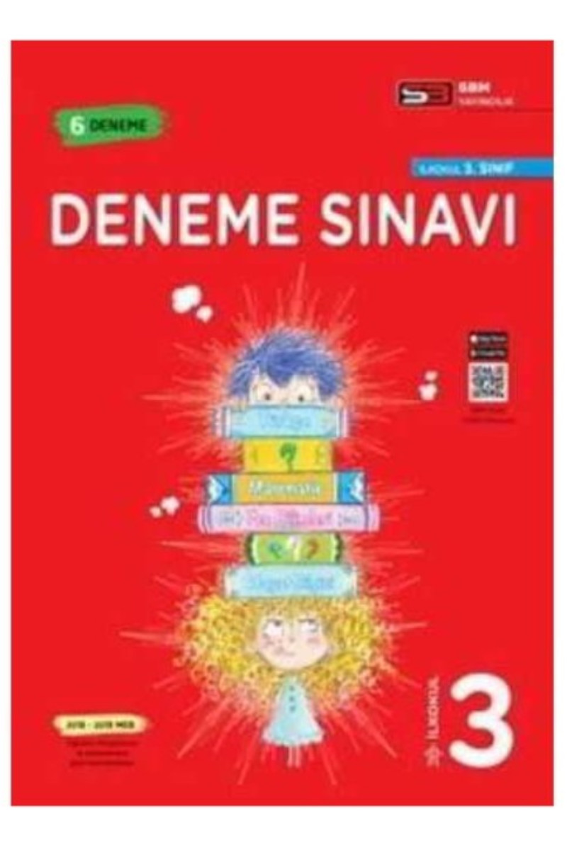 SBM Yayıncılık 3. Sınıf Deneme