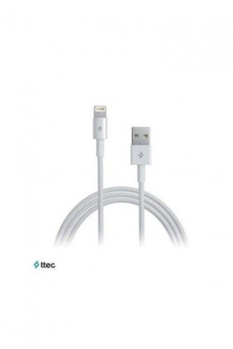 Ttec Data Kablosu Iphone Beyaz
