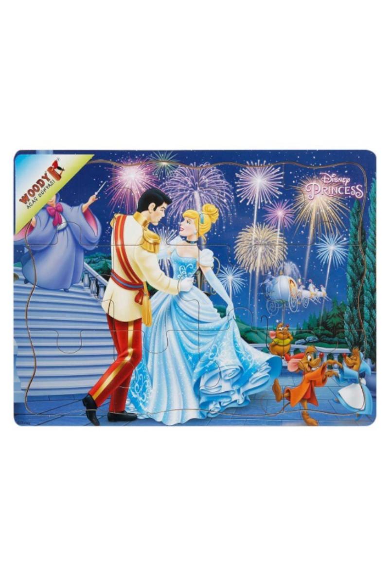 Prenses Ahşap Puzzle 12 Pcs