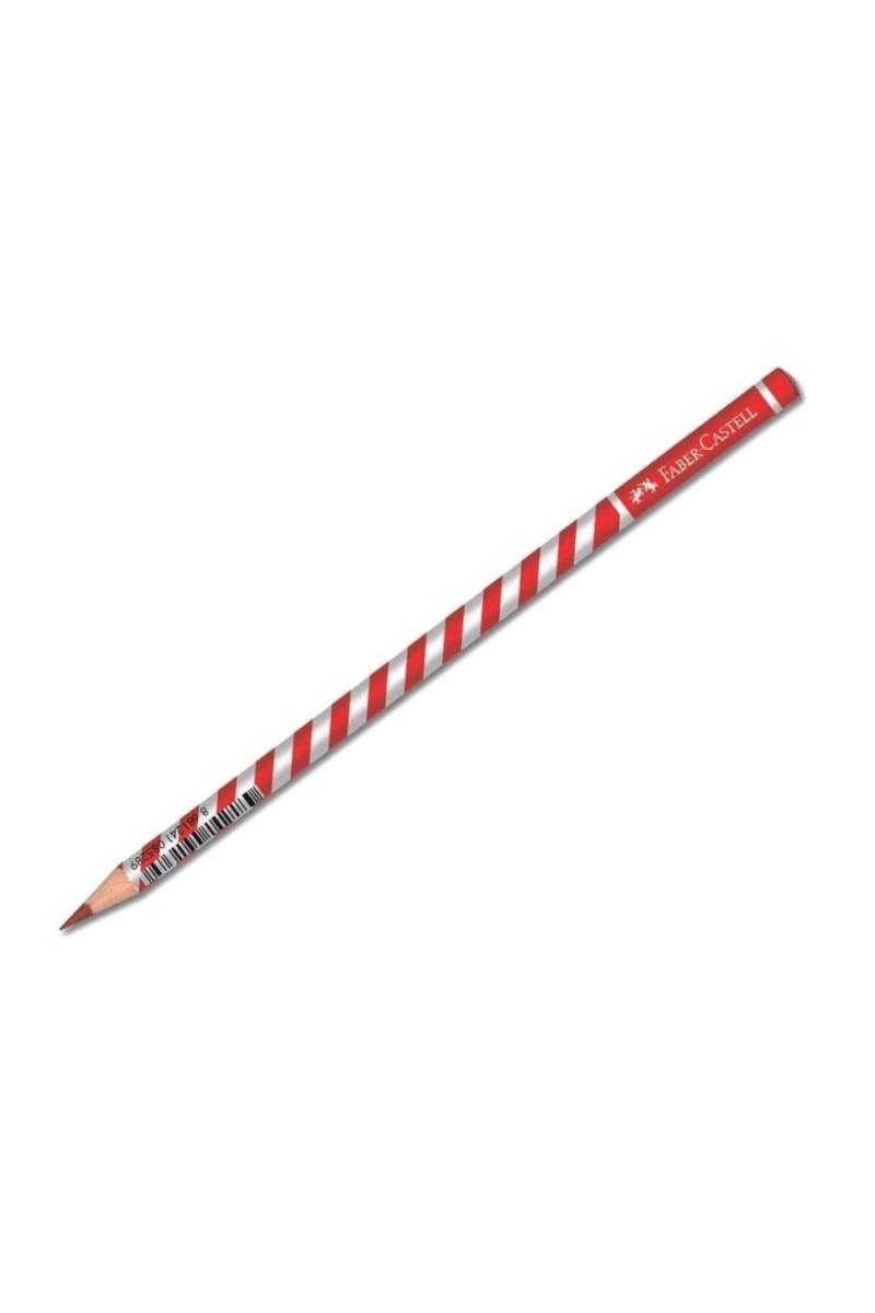 Faber Castell Başlık Kalemi Dalgalı Kırmızı