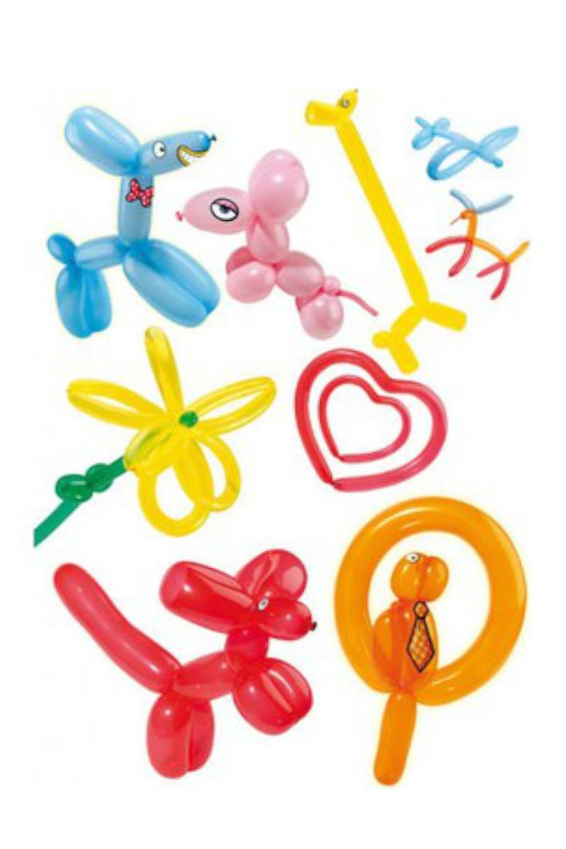 Balonevi Karışık Sosis Balon 100'lü