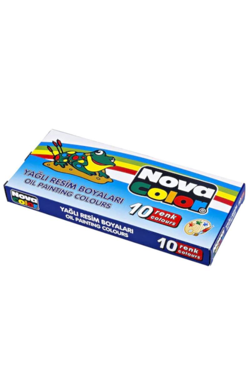 Nova Color Yağlı Boya 10'lu Tüp