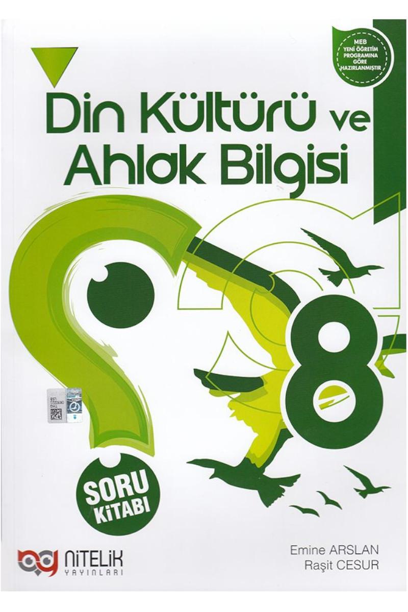 Nitelik 8.Sınıf Din Kültürü Ve Ahlak Bilgisi Soru Kitabı