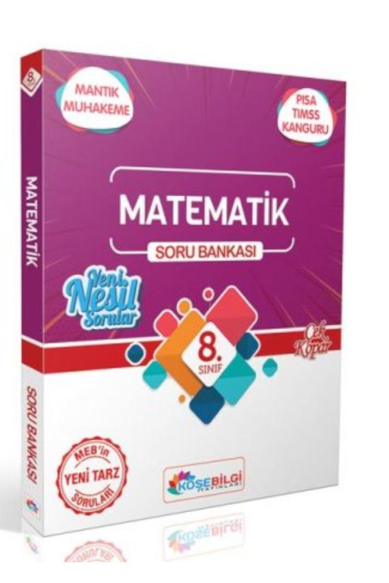 KöşeBilgi 8. Sınıf Matematik Özet Bilgili Soru Bankası
