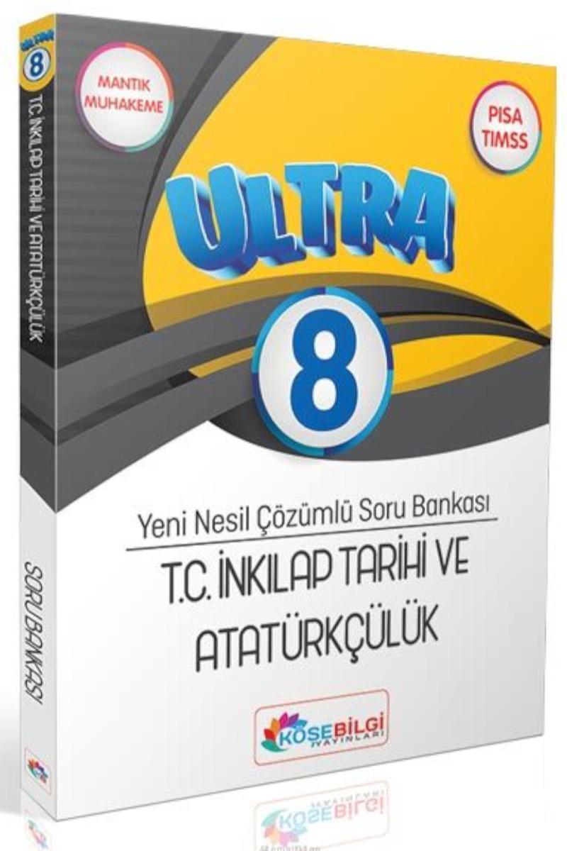 Köşebilgi 8.Sınıf Ultra İnkılap Tarihi Ve Atatürkçülük Çözümlü Soru Bankası