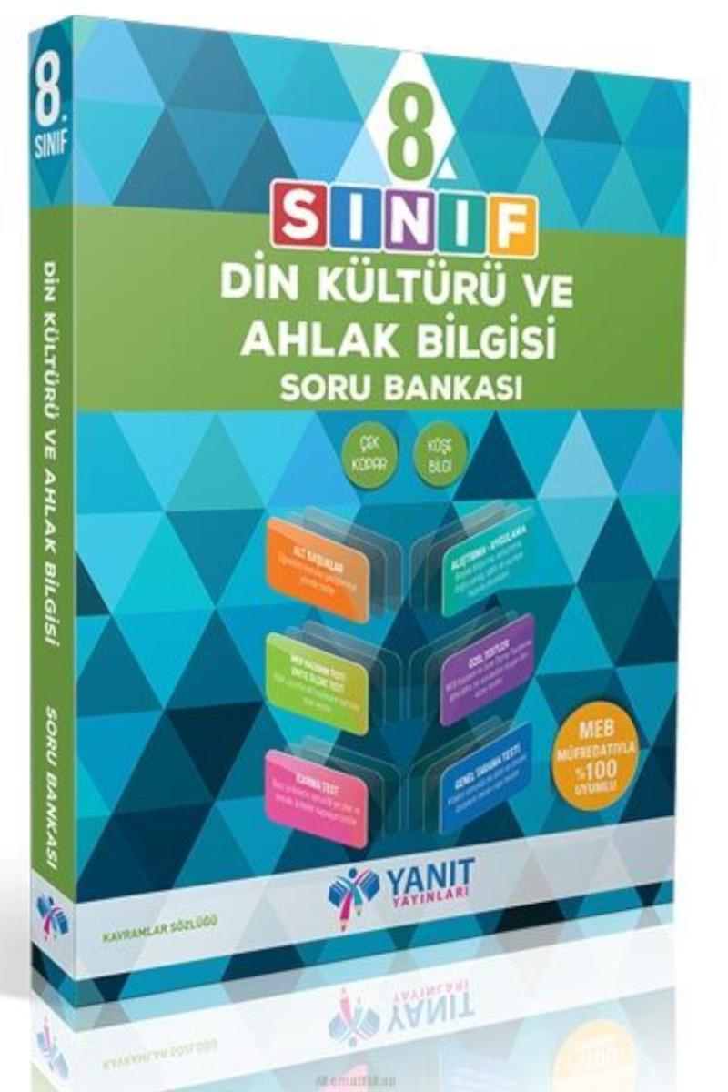 Yanıt 8. Sınıf Din Kültürü ve Ahlak Bilgisi Soru Bankası