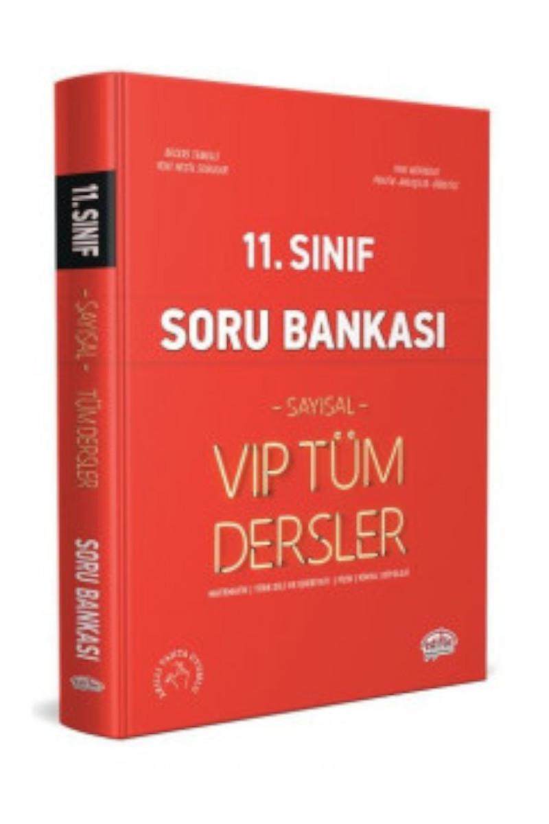 Editör Yayınları 11. Sınıf VIP Tüm Dersler Sayısal Soru Bankası Editör