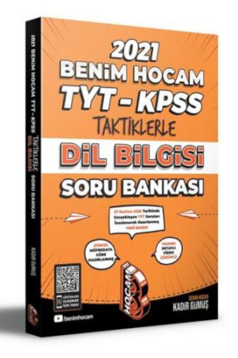 Benim Hocam 2021 Tyt-Ayt-KPSS Taktiklerle Dil Bilgisi Soru Bankası