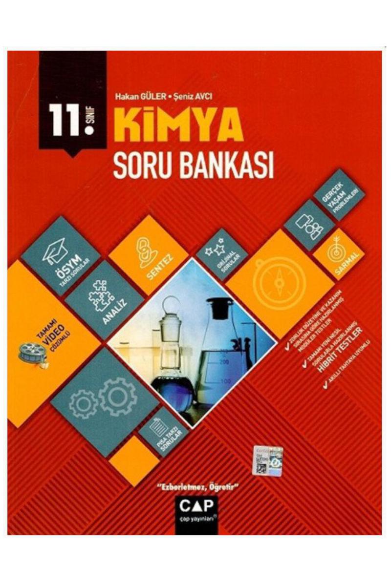 Çap Yayınları 11. Sınıf Anadolu Lisesi Kimya Soru Bankası