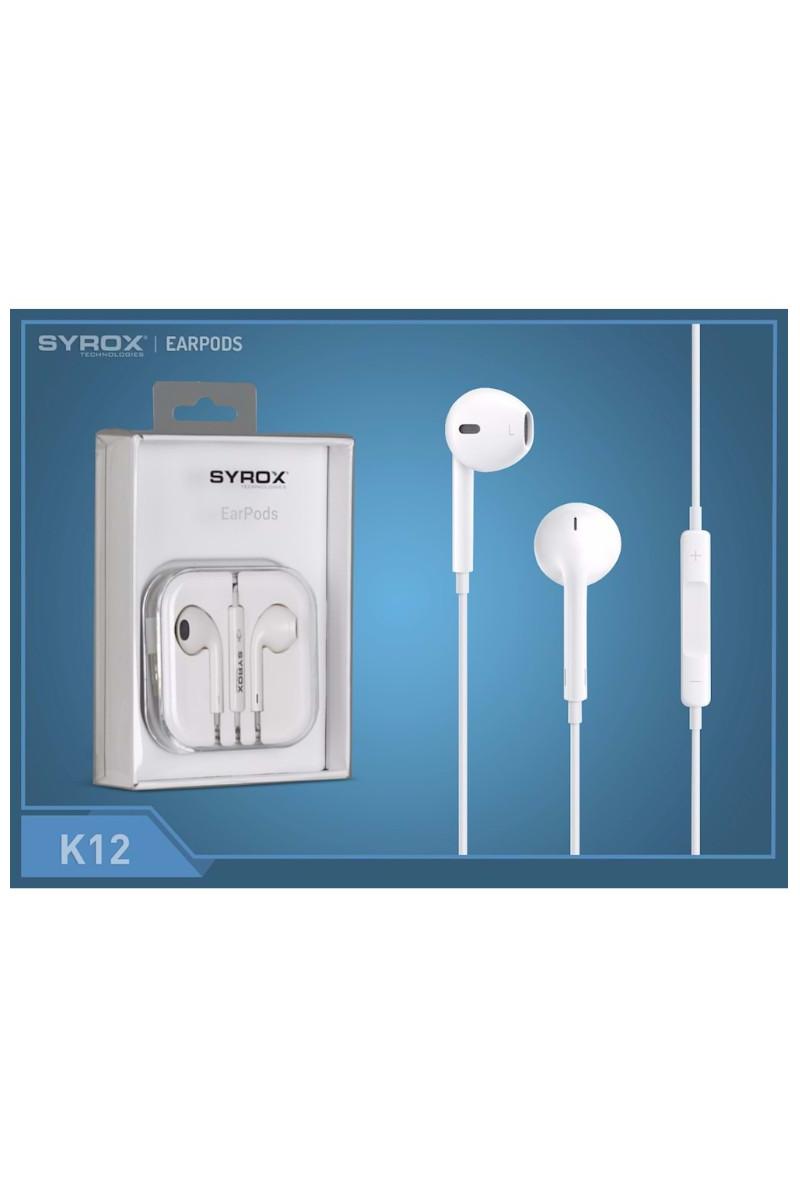 Syrox Jak Girişli Mikrofonlu Iphone Kulaklık K12