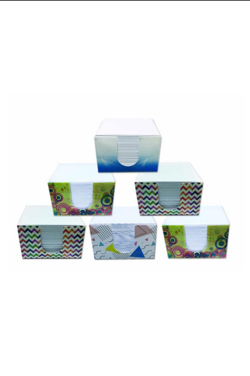 Lizy Karton Kutu Beyaz Küp Blok 939