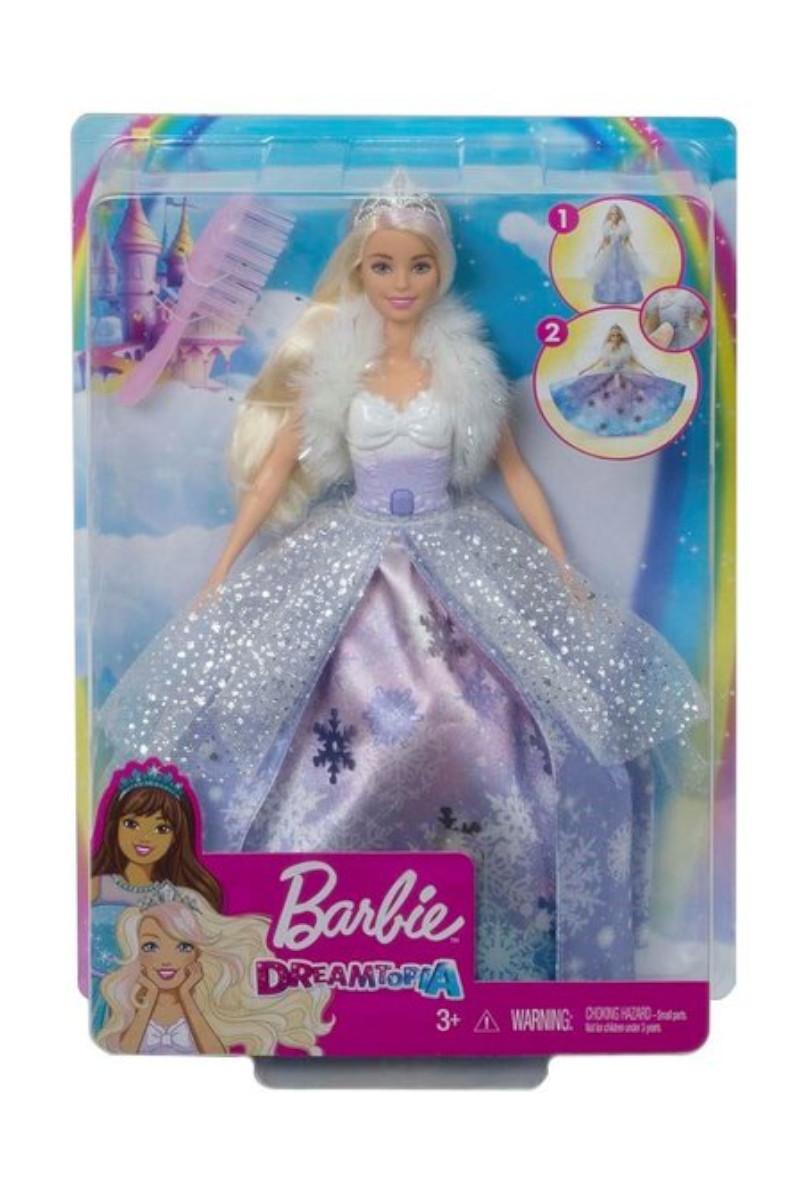 Barbie Dreamtopıa Karlar Prensesi Bebek