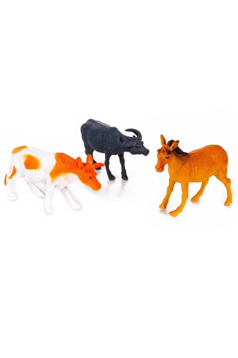 Poşetli 3'lü Evcil Hayvanlar
