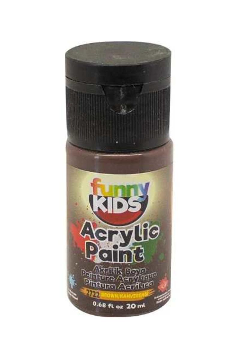 Funny Kids Akrilik Boya 020cc 2722 Kahverengi