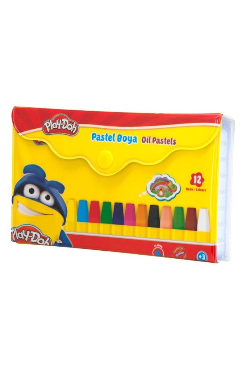 Play-Doh Pastel Boya Çantalı 12 Renk