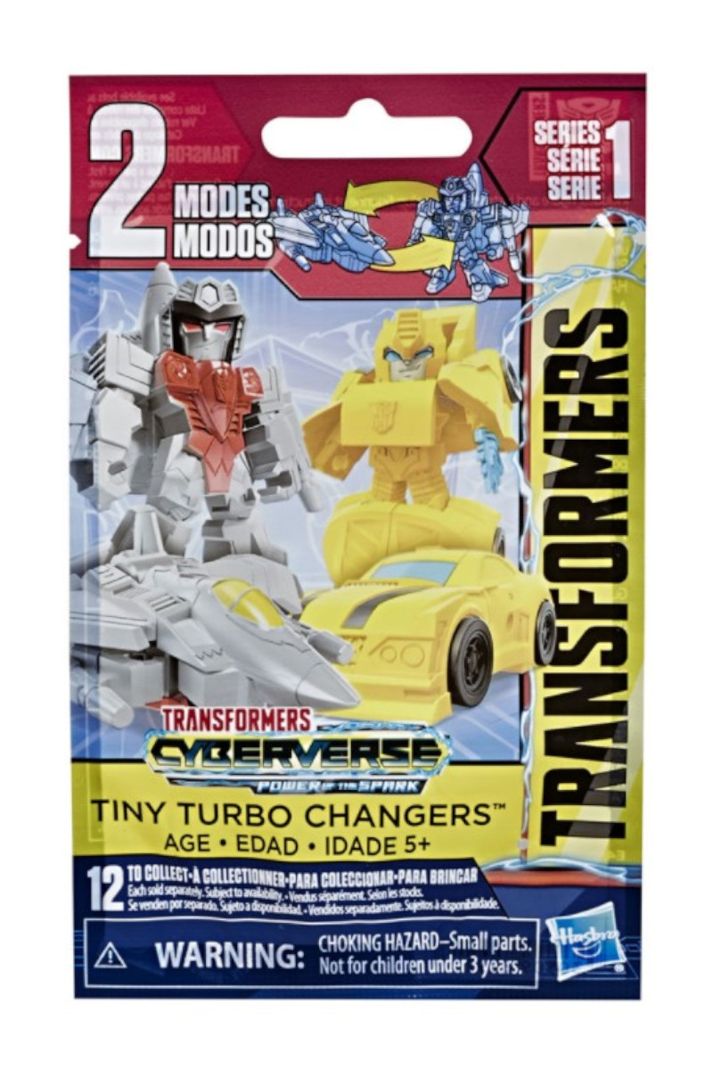 Hasbro Transformers Cyberverse Turbo Changer Sürpriz