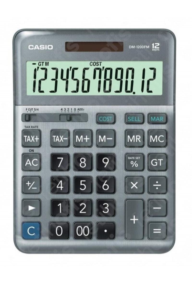 Casio Hesap Makinası DM-1200F