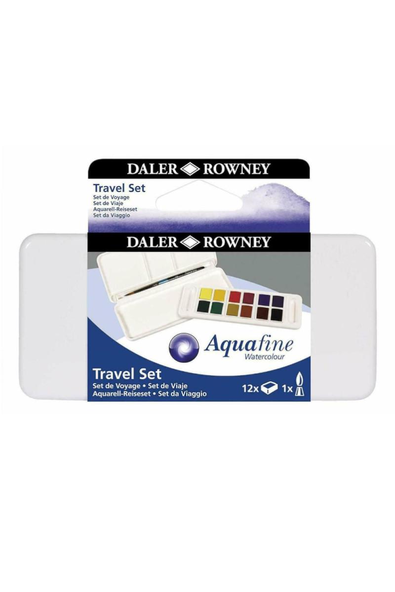 Daler & Rowney Aquafine Sulu Boya Seti 12'li
