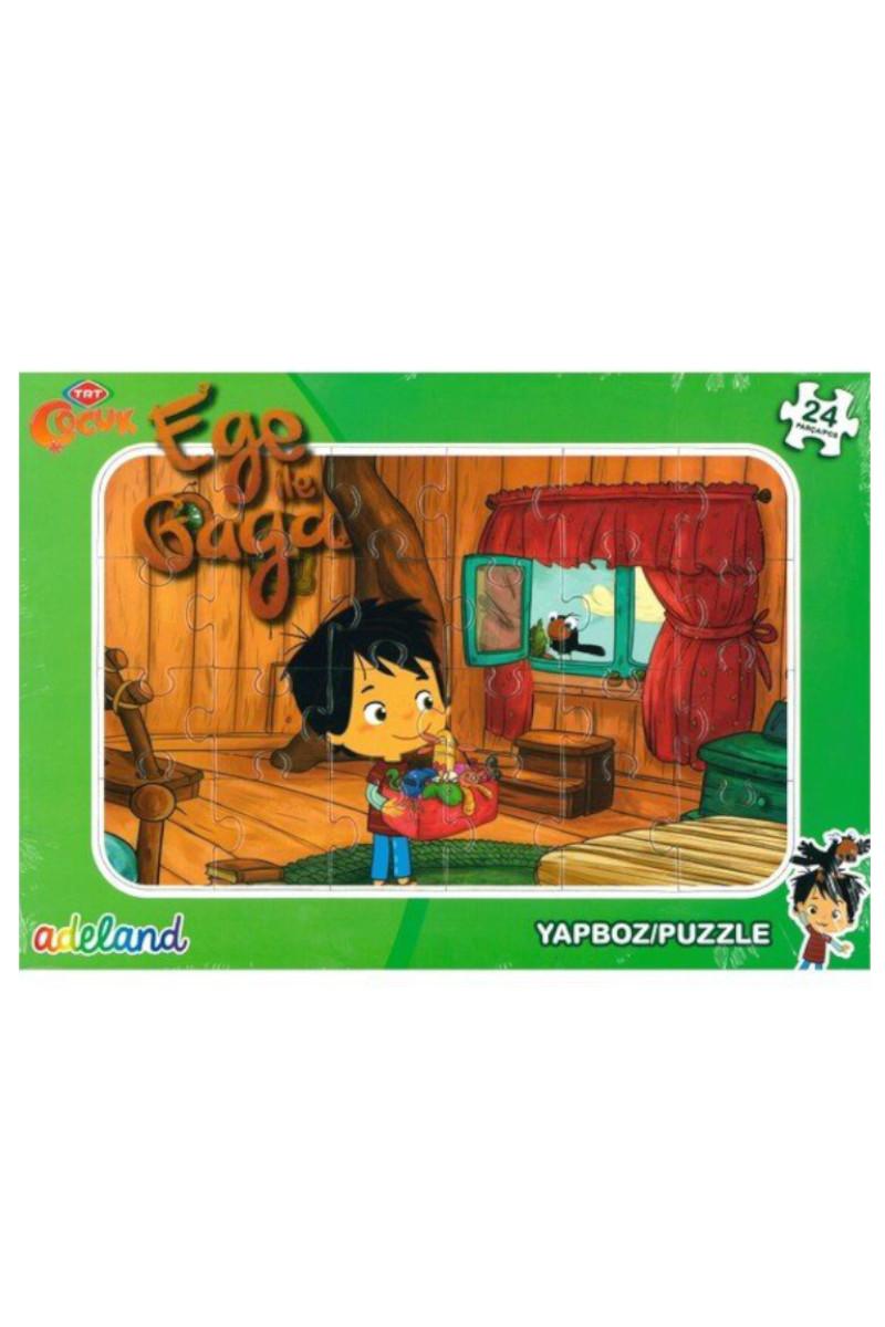 TRT Ege ile Gaga Puzzle 24 Parça