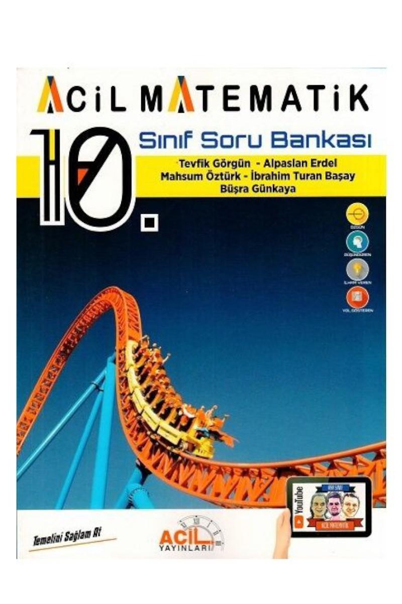 Acil Yayınları 10. Sınıf Matematik Soru Bankası