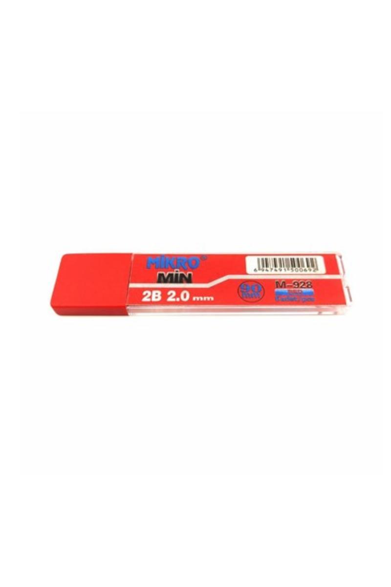 Mikro Kurşun Kalem Ucu Kırmızı Min 2,0x90mm