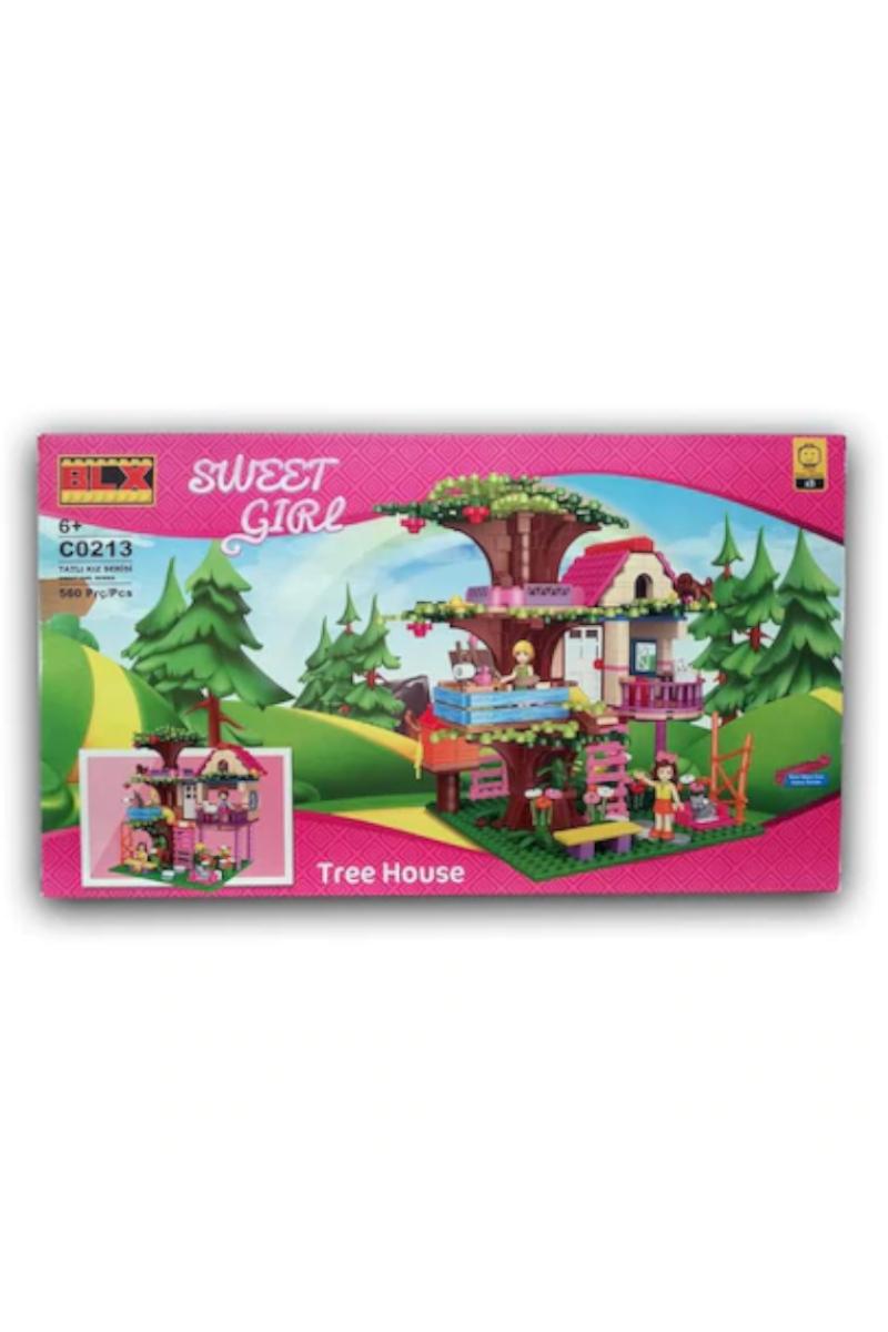 Lego 506pcs Tatlı Kız Ağaç