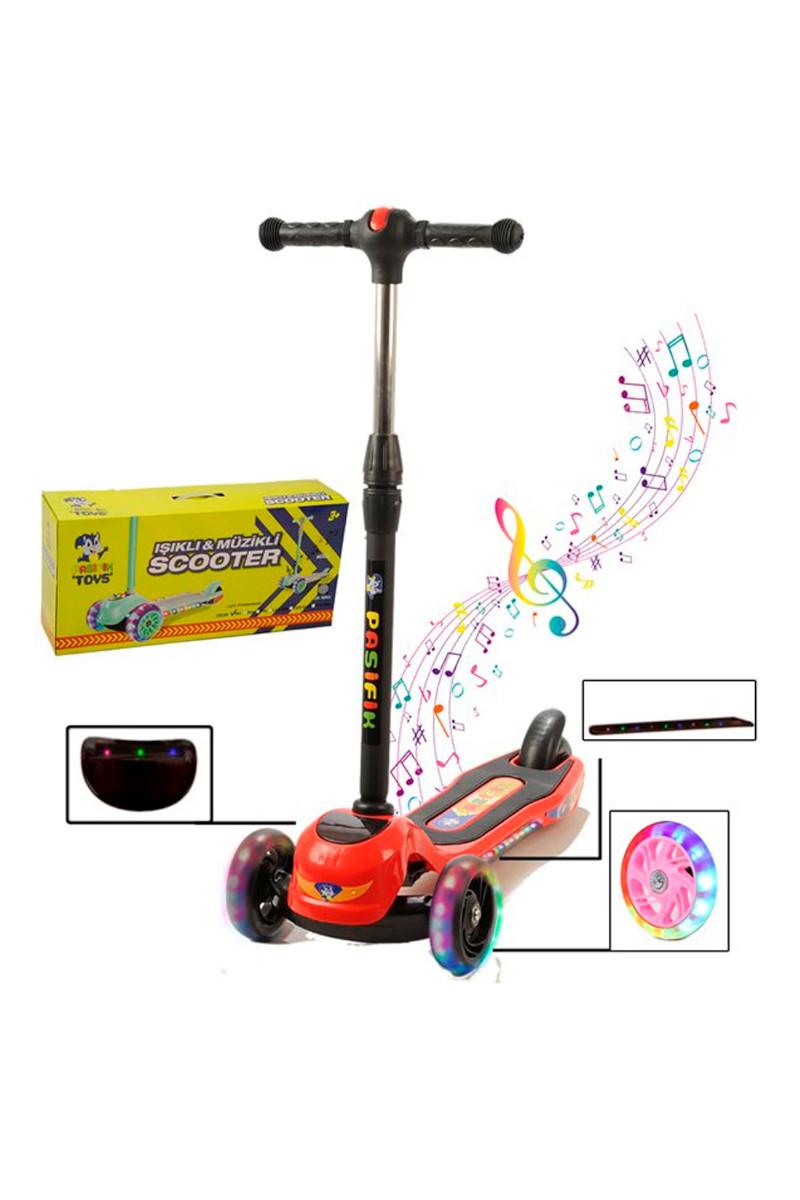 Pasifik Toys Işıklı ve Müzikli Scooter S301