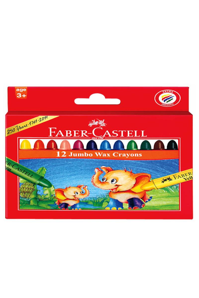 Faber Castell Yıkanabilir Mum Boya 12 Renk