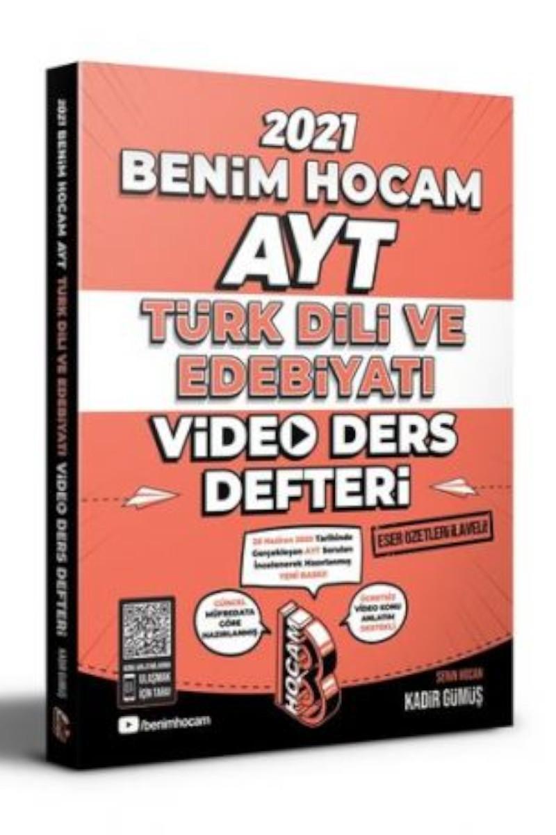 Benim Hocam 2021 Ayt Türk Dili ve Edebiyatı Video Ders Defteri