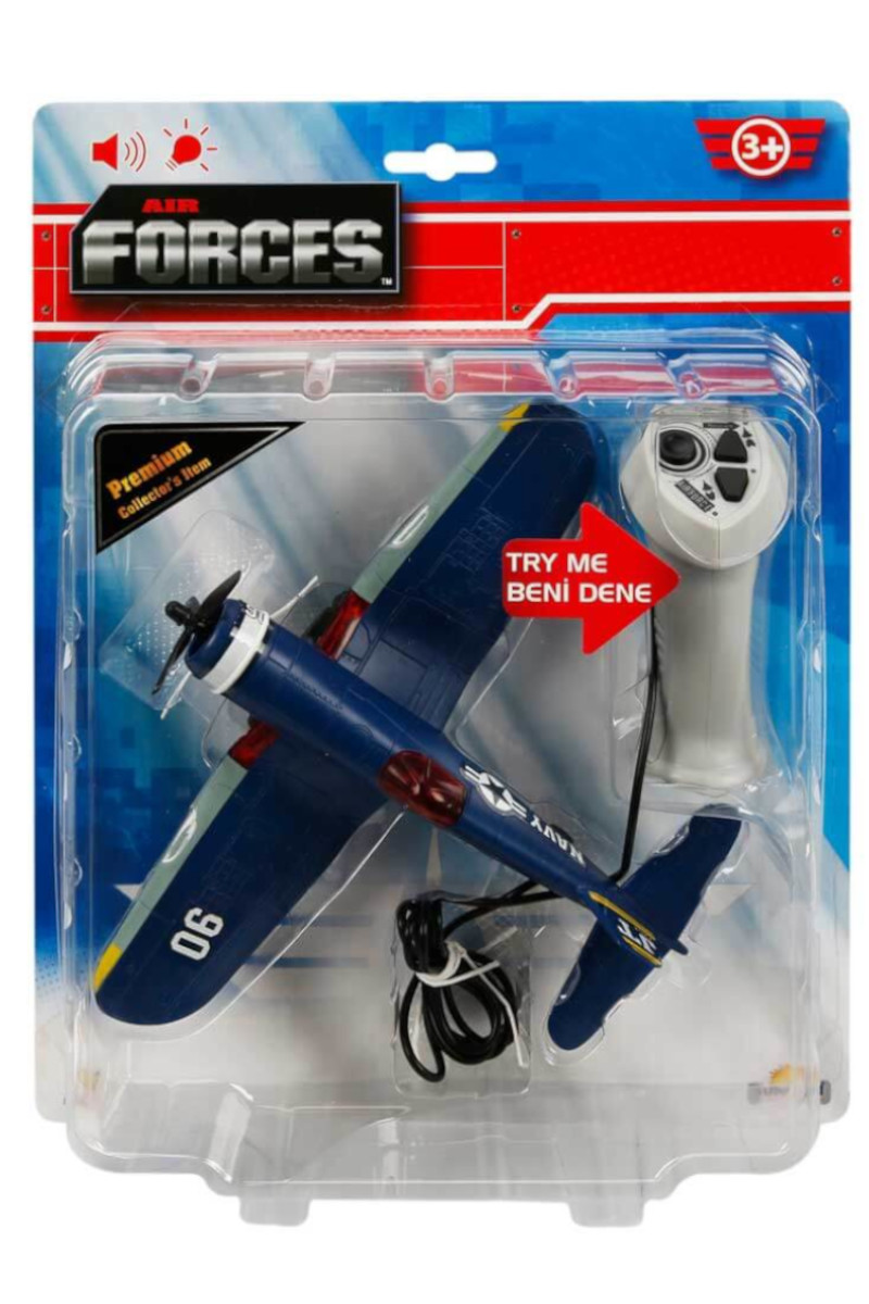 Air Forces Kablo Kumandalı Sesli ve Işıklı Uçak